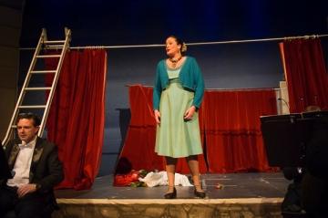 Rôle d'Agata dans Don Bucefalo d'Antonio Cagnoni Janvier 2012 au ZKO à Zürich